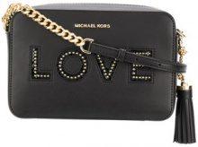 Michael Michael Kors - Ginny Love crossbody bag - women - Leather - One Size - BLACK