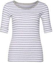 Marc Cain Essentials MarcCainDamenT-Shirts+E4809J91, T-Shirt Donna, Grau (Grey 820), 40
