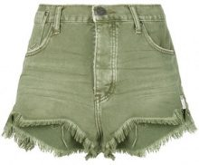 One Teaspoon - Pantaloni corti - women - Cotton - 25, 27, 28, 29, 30, 26 - GREEN