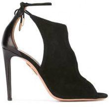 Aquazzura - 'Nomad' sandals - women - Suede/Leather - 37.5, 38, 38.5, 39.5, 40 - BLACK