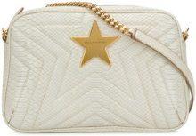 Stella McCartney - Borsa a spalla 'Stella Star' - women - Polyurethane - OS - WHITE