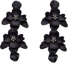 Orecchini con fiori (Nero) - bpc bonprix collection