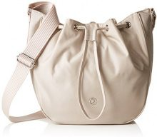 Bogner Borsa a Tracolla Donna, Beige (Beige (Shell 405)), 9.5x29x24 cm (B x H x T)