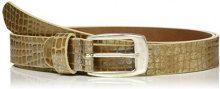 MGM Mila, Cintura Donna, Beige (Metalic Beige 02), 100 cm