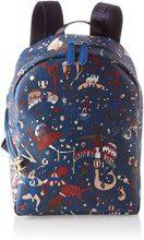 piero guidi 215174038, Borsa a Zainetto Donna, Blu (Bluette), 24x31,5x12,5 cm