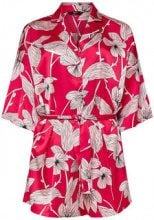 ONLY Kimono Playsuit Women Red