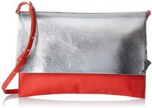 Clarks Moroccan Jewel - Borse a spalla Donna, Silber (Silver Metallic), 2x21x31 cm (L x H D)
