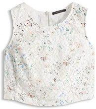 ESPRIT Collection - aus Baumwolle, Camicia Donna, Multicolore (OFF WHITE 2 111), M (Taglia Produttore: 40)