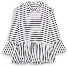 ESPRIT 127ee1f016, Camicia Donna, Bianco (off White 110), 48 (Taglia Produttore: 42)