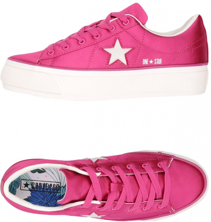 One Sneakers Star Satin Platform Converse All Calzature Ybgyvf67