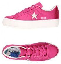 CONVERSE ALL STAR ONE STAR PLATFORM SATIN - CALZATURE - Sneakers & Tennis shoes basse - su YOOX.com