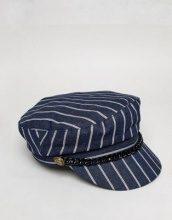 My Accessories - Berretto blu navy rigato - Navy