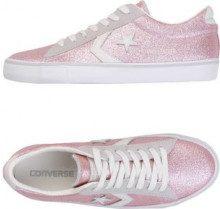 CONVERSE ALL STAR PRO LEATHER VULC GLITTER - CALZATURE - Sneakers & Tennis shoes basse - su YOOX.com
