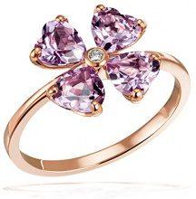 goldmaid   9_k_(375)  Oro rosso Cuore   H Diamante Ametista