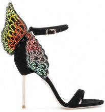 Sophia Webster - Evangeline sandals - women - Leather/Suede - 36, 37, 37.5, 39, 40, 38 - BLACK