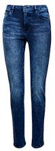 edc by Esprit 117cc1b027, Jeans Straight Donna, Blu (Blue Medium Wash 902), W28/L32