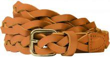Cintura in pelle Treccia (Marrone) - bpc selection premium