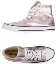 CONVERSE ALL STAR CT AS HI CANVAS METALLIC - CALZATURE - Sneakers & Tennis shoes alte - su YOOX.com