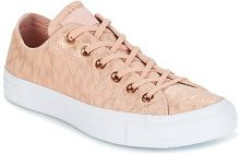 Scarpe Converse  CHUCK TAYLOR ALL STAR SHIMMER SUEDE OX DUSK PINK/DUSK PINK/WHITE