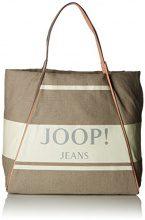 Joop! Canvas Lara Shopper Xlho - Borse a secchiello Donna, Weiß (Offwhite), 18x34x40 cm (B x H T)