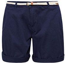 ESPRIT 038ee1c002, Pantaloncini Donna, Blu (Navy 400), 46 (Taglia Produttore: 40)