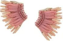 - Mignonne Gavigan - wings beaded earrings - women - acetato - Taglia Unica - di colore rosa
