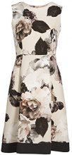 APART Fashion Kleid, Vestito Donna, Mehrfarbig (Puder-Multicolor 0), 34