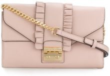 Michael Michael Kors - Borsa a tracolla 'Sloan' - women - Leather - One Size - PINK & PURPLE