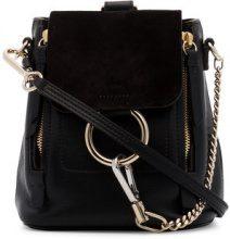 Chloé - Faye mini backpack - women - Leather - One Size - Nero