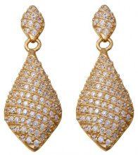 Orphelia dreambase-orecchini da donna in argento Sterling placcato oro con zirconi bianco ZO-5886-GOLD