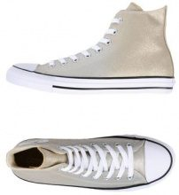 CONVERSE ALL STAR CTAS HI OMBRE METALLIC - CALZATURE - Sneakers & Tennis shoes alte - su YOOX.com