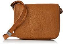 BREE Lady Top 12, Sa. Brown, Ladies' Handbag - Borse a spalla Donna, Braun (Sa. Brown), 8x20x25 cm (B x H T)