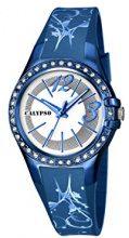 Calypso K5624/F - Orologio da polso, Da Donna, Plastica, colore: Blu