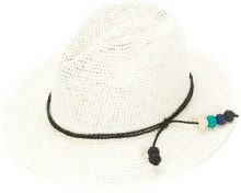 Sensi Studio - Tucuman band panama hat - women - Straw - S - WHITE