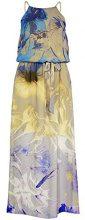 APART Fashion 42317-Vestito Donna Mehrfarbig (vanille-multicolor) 34