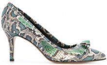Isabel Marant - Poween pumps - women - Leather - 37, 40, 41 - GREEN