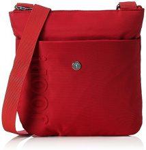 JOOP Borsa a spalla Donna, Rosso (rosso (rosso)), 3x25x24 cm (B x H x T)