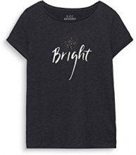 edc by Esprit 117cc1k047, T-Shirt Donna, Nero (Black 001), Small