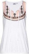 Top di jersey in filato fiammato (Bianco) - bpc bonprix collection