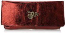 Sous les Pavés Spleen, pochette donna, color Rosso (Metal Rubis/Serpent), talla One Size