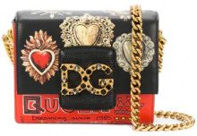 Dolce & Gabbana - DG Millenials crossbody bag - women - Calf Leather - One Size - RED