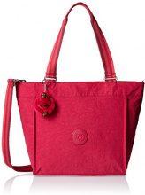 Kipling New Shopper S - Borse Tote Donna, Pink (Cherry C), 42x27x13 cm (W x H x L)