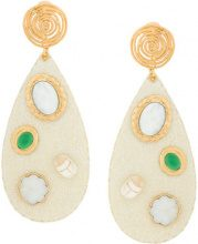 Gas Bijoux - Orecchini 'Verone' - women - 24kt Gold Plate - OS - Color carne & neutri