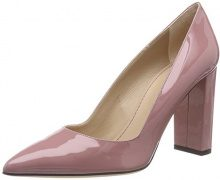 HUGO Mayfair Pump 90-pa, Scarpe con Tacco Donna, Rosa (Dark Pink 651), 39.5 EU