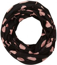 PIECES Pcidana Tube Scarf Box Pb, Sciarpa Donna, Multicolore (Black Black), Taglia unica