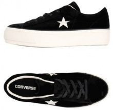 CONVERSE ALL STAR ONE STAR PLATFORM OX VELVET - CALZATURE - Sneakers & Tennis shoes basse - su YOOX.com