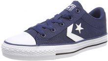 Converse Star Player Ox, Sneaker Unisex Adulto, Blau (Navy/White/Black 426), 39 EU