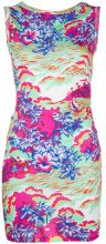 Dsquared2 - printed mini dress - women - Cotton - S, L - MULTICOLOUR