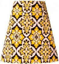 La Doublej - Minigonna con stampa vintage - women - Cotton - XS, S, M, L, XL - MULTICOLOUR