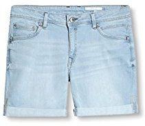 edc by Esprit 027cc1c002, Shorts Donna, Blu (Blue Rinse), W29 (Taglia Produttore: 29)